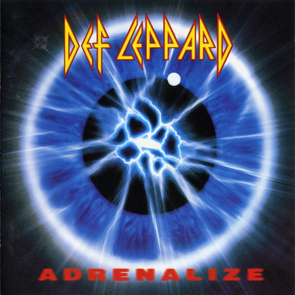 Def Leppard Adrenalize cover art
