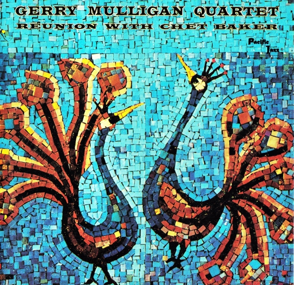 Gerry Mulligan Reunion With Chet Baker and the Gerry Mulligan Quartet Cover Art