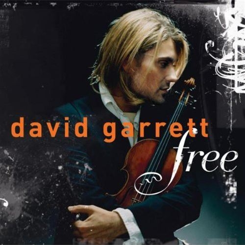 David Garrett Free / Virtuoso Cover Art