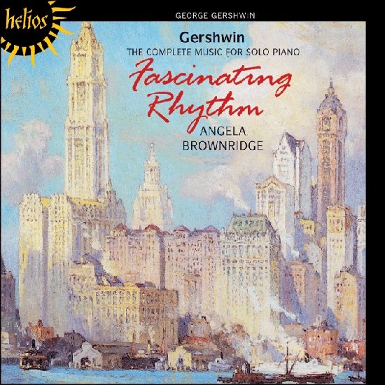 George Gershwin; Angela Brownridge Fascinating Rhythm: The Complete Music for Solo Piano Cover Art