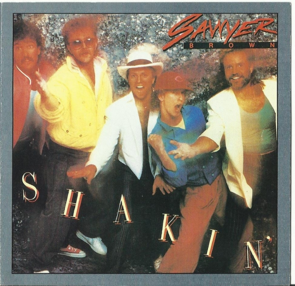 Sawyer Brown Shakin' cover art