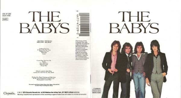 The Babys The Babys cover art