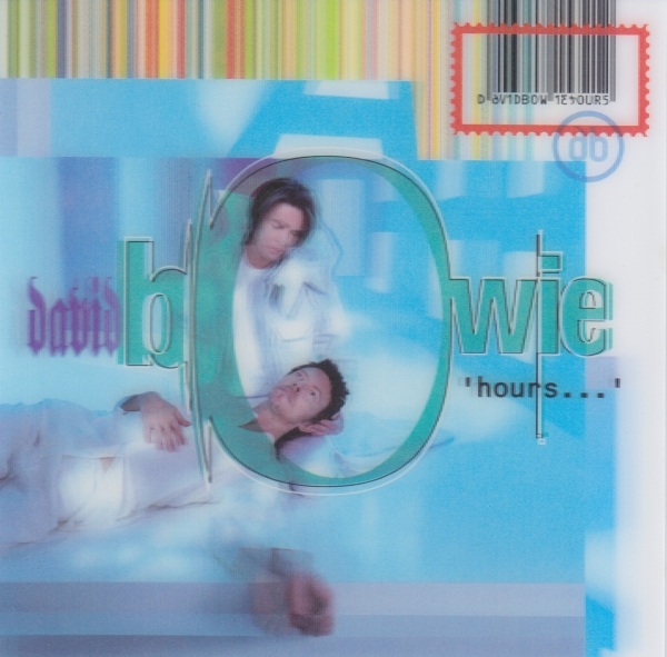 David Bowie 'hours…' cover art