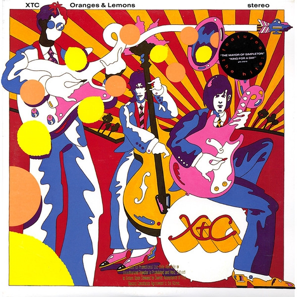 Xtc Oranges & Lemons cover art