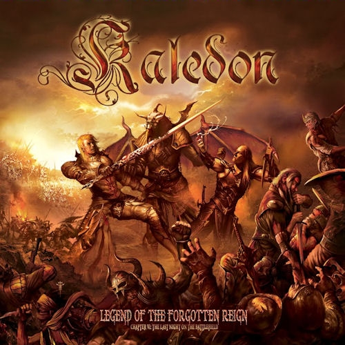 Kaledon Legend Of The Forgotten Reign - Chapter VI: The Last Night On The Battlefield cover art