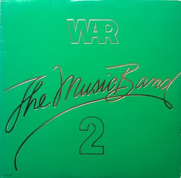 War The Music Band 2 Cover Art