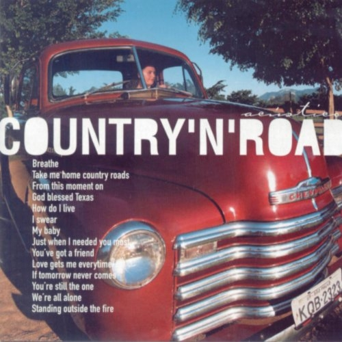Barbra Zinger Country'n'Road Cover Art