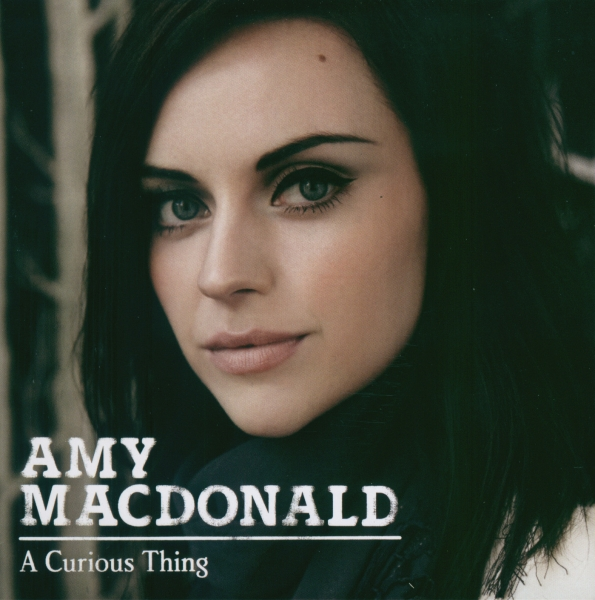 Amy Macdonald A Curious Thing cover art