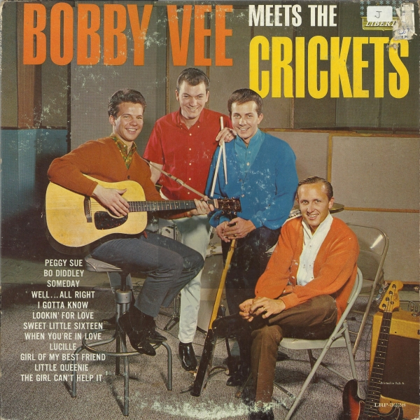 Bobby Vee & The Crickets Bobby Vee Meets the Crickets Cover Art