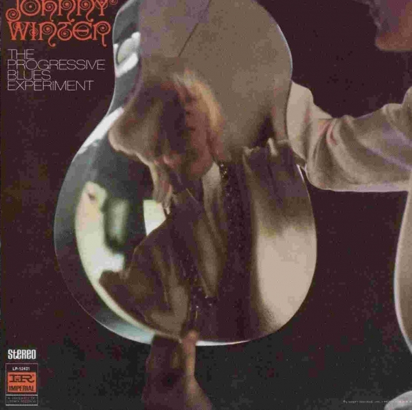 Johnny Winter The Progressive Blues Experiment cover art