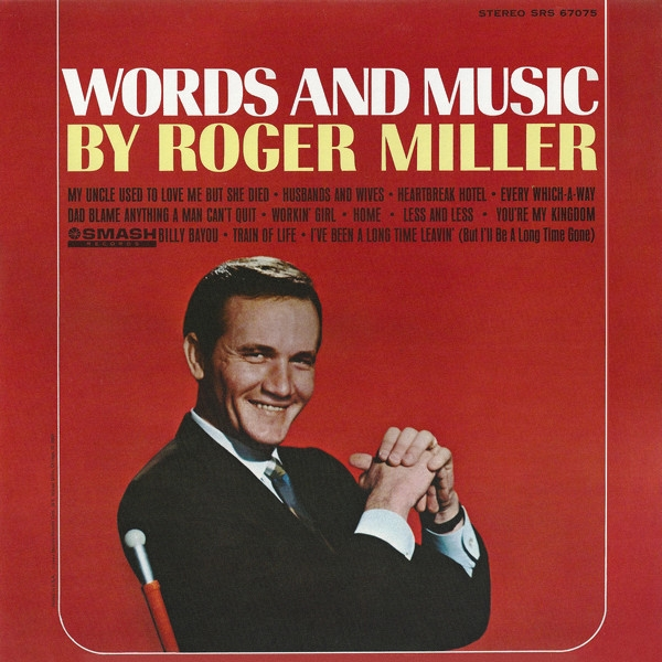 Roger Miller Words and Music cover art