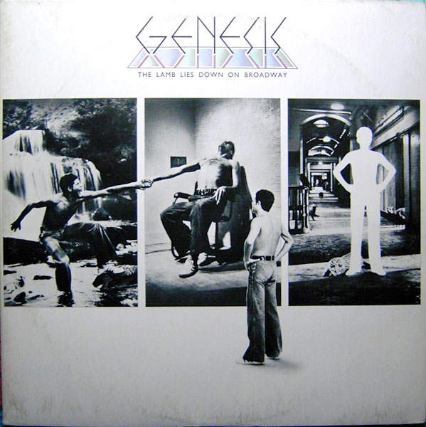 Genesis The Lamb Lies Down on Broadway cover art
