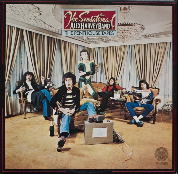 The Sensational Alex Harvey Band The Penthouse Tapes cover art