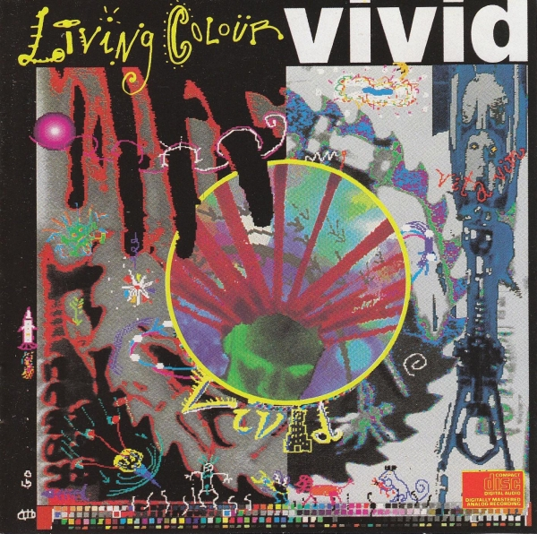 Living Colour Vivid cover art