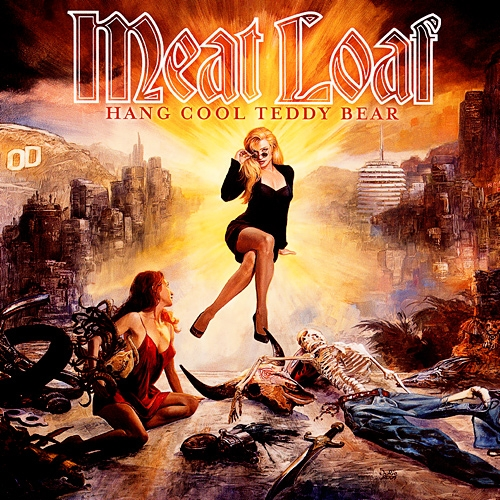 Meat Loaf Hang Cool Teddy Bear Cover Art