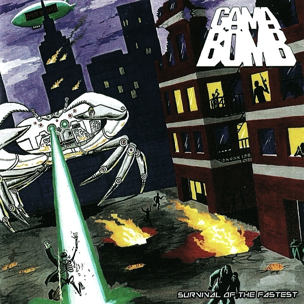 Gama Bomb Survival of the Fastest cover art