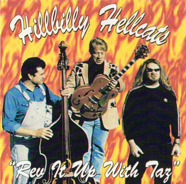 Hillbilly Hellcats Rev It Up With Taz Cover Art
