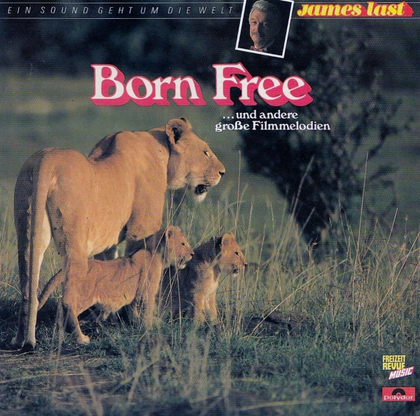 James Last Born Free... und andere Große Filmmelodien Cover Art