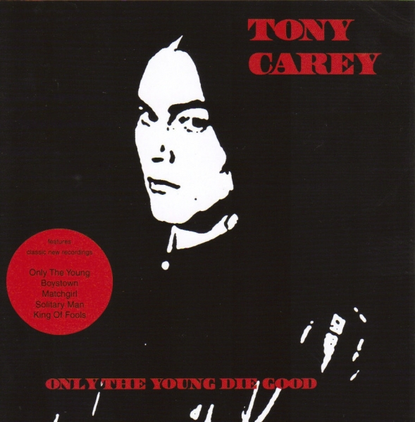Tony Carey Only the Young Die Good Cover Art