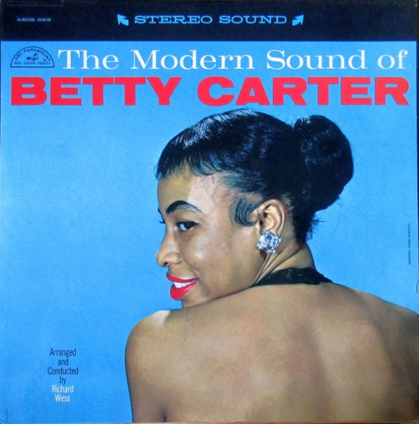 Betty Carter The Modern Sound of Betty Carter Cover Art