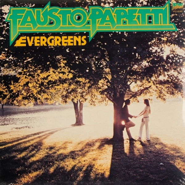 Fausto Papetti Evergreens cover art