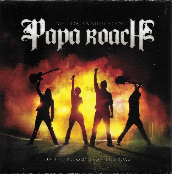 Papa Roach Time for Annihilation: On the Record & On the Road cover art