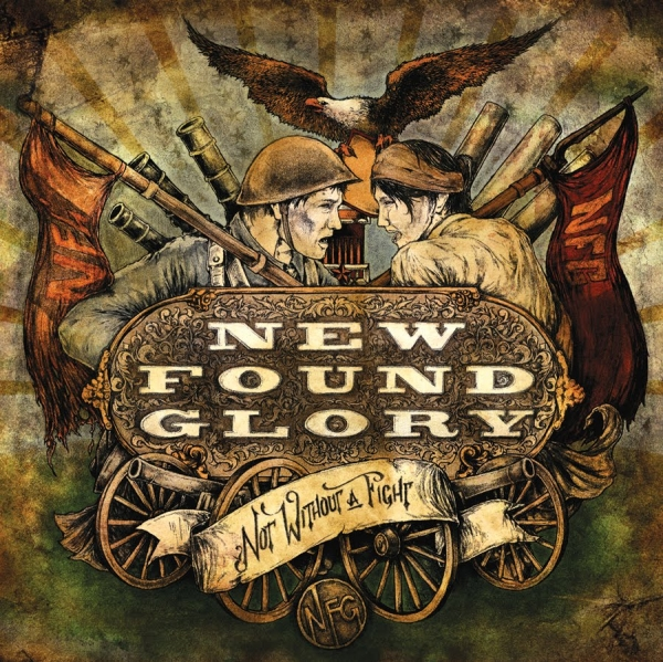 New Found Glory Not Without a Fight cover art