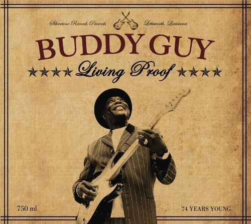 Buddy Guy Living Proof cover art