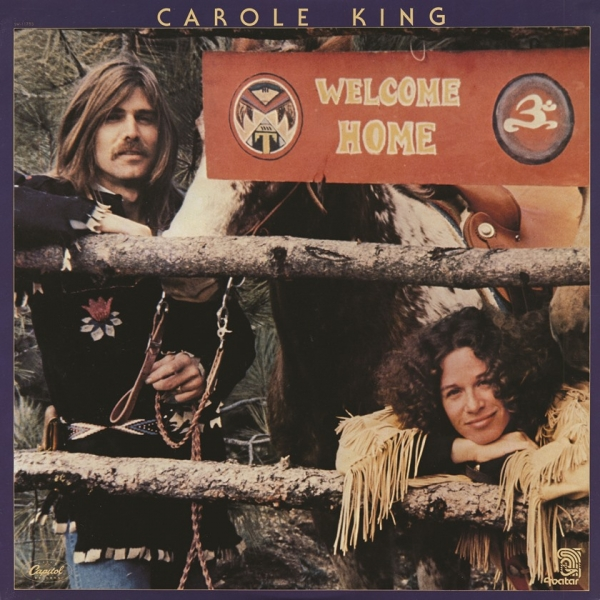 Carole King Welcome Home cover art