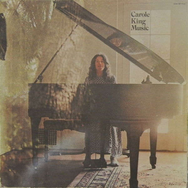 Carole King Music Cover Art