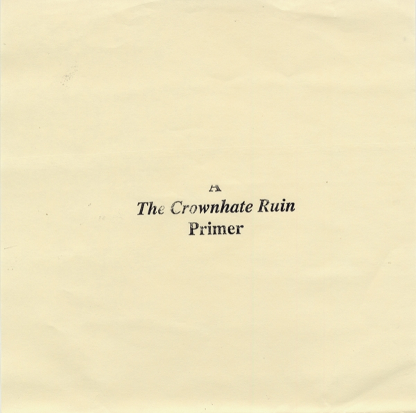The Crownhate Ruin A Primer Cover Art