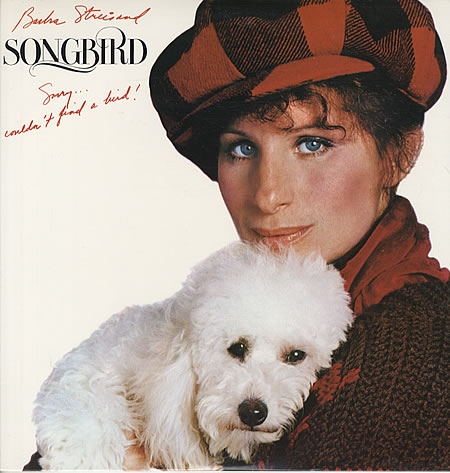 Barbra Streisand Songbird Cover Art