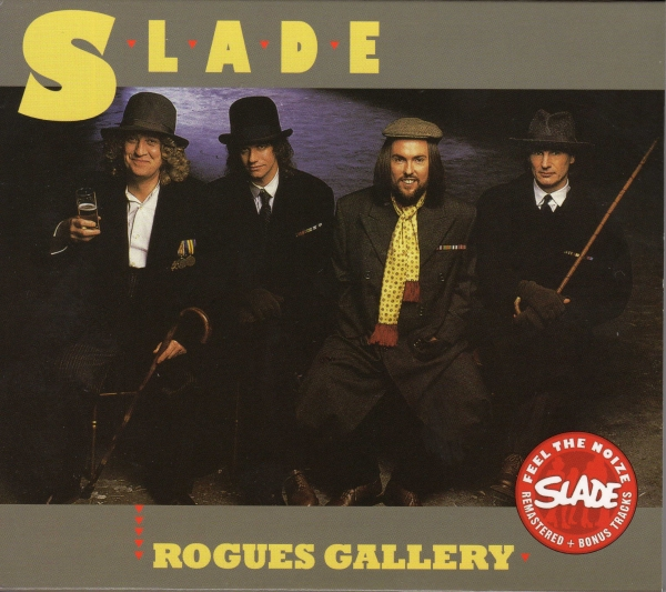 Slade Rogues Gallery Cover Art