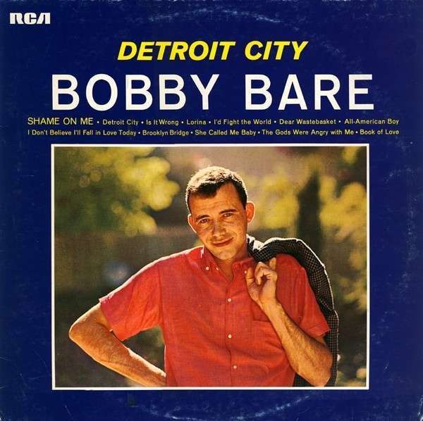 Bobby Bare Detroit City and Other Hits by Bobby Bare cover art