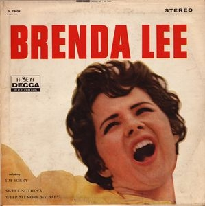 Brenda Lee Brenda Lee cover art
