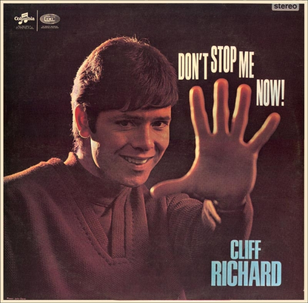 Cliff Richard Don't Stop Me Now cover art
