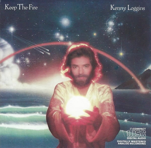 Kenny Loggins Keep the Fire cover art