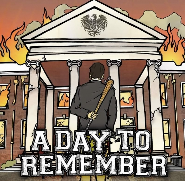 A Day to Remember Halos for Heros, Dirt for the Dead Cover Art