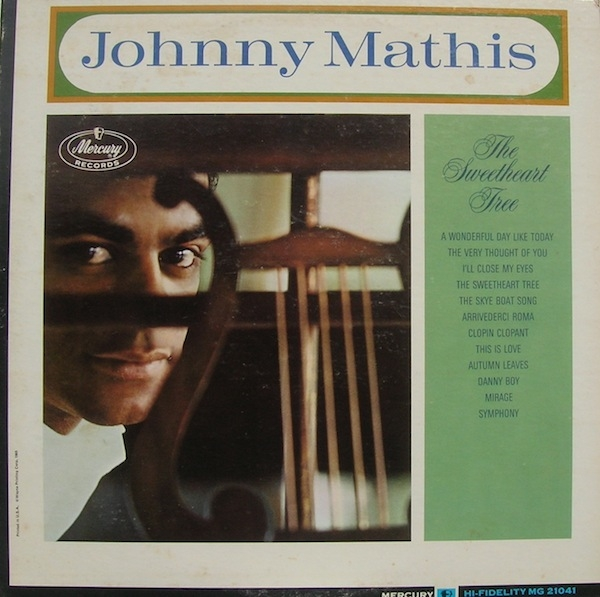 Johnny Mathis The Sweetheart Tree cover art
