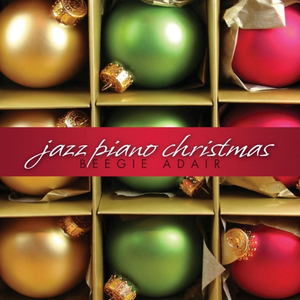 Beegie Adair Jazz Piano Christmas cover art