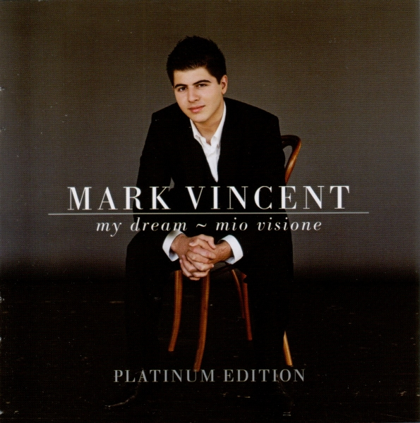 Mark Vincent My Dream - Mio Visione Cover Art