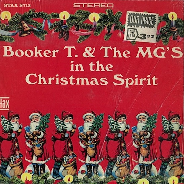 Booker T. & The MG's In the Christmas Spirit Cover Art