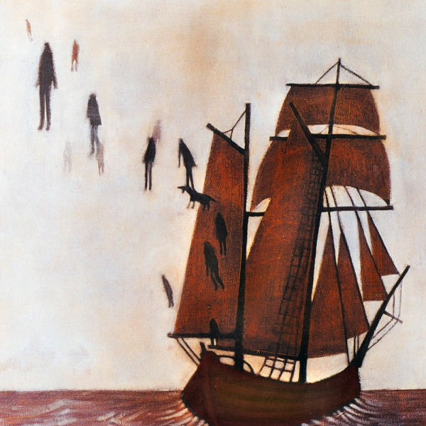 The Decemberists Castaways and Cutouts Cover Art