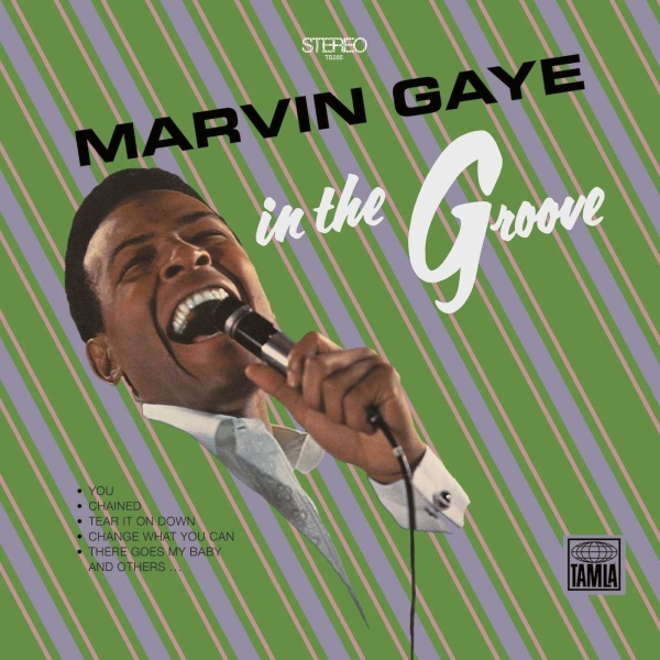 Marvin Gaye In the Groove cover art