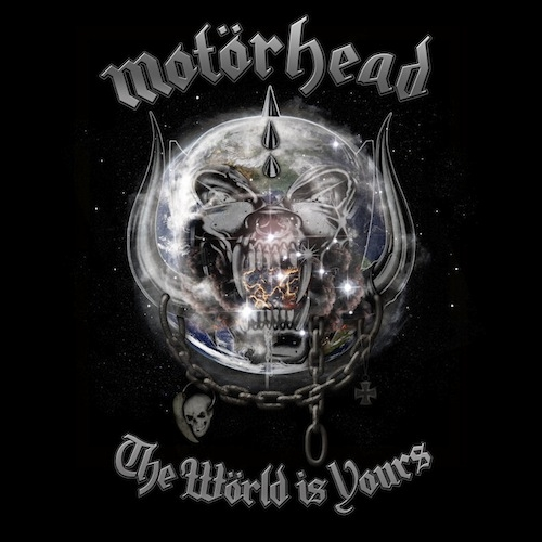 Motörhead The Wörld Is Yours cover art