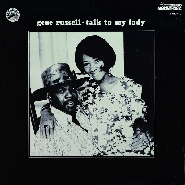 Gene Russell Talk to My Lady Cover Art
