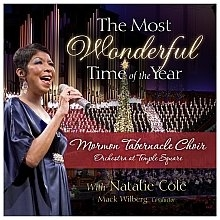 Natalie Cole The Most Wonderful Time of the Year cover art