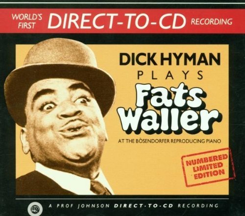 Dick Hyman Dick Hyman Plays Fats Waller Cover Art