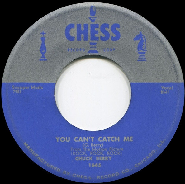 Chuck Berry You Can't Catch Me / Havana Moon cover art