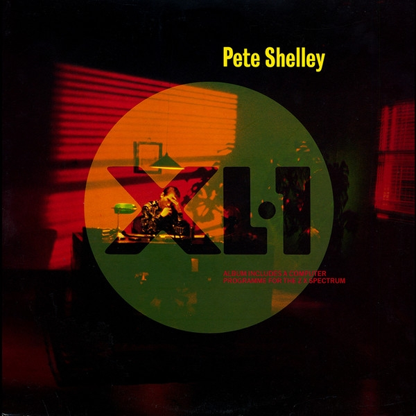 Pete Shelley XL·1 Cover Art
